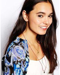 ASOS - Multicolor Arrow Stud Earrings - Lyst