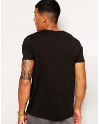 ASOS - Black T-Shirt With Hurts Print for Men - Lyst