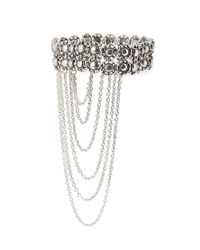 Forever 21 | Metallic Etched Accented Arm Bracelet | Lyst