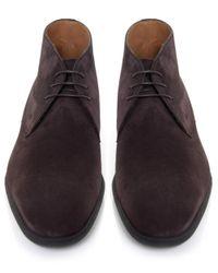 Stemar - Brown Trieste Suede Chukka Boots for Men - Lyst