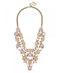 BaubleBar | Pink Fiji Bib-opal | Lyst