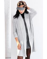 Silence + Noise | Gray Drew Cardigan | Lyst