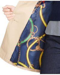 Lauren by Ralph Lauren - Natural Belted Trench Coat - Lyst