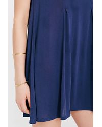 Silence + Noise - Blue Riley Trapeze Dress - Lyst