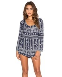 Somedays Lovin - Multicolor Salute Long Sleeve Romper - Lyst