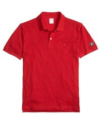 Brooks Brothers | Red Cornell University Slim Fit Polo for Men | Lyst