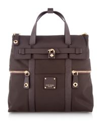 Henri Bendel | Brown Jetsetter Backpack | Lyst