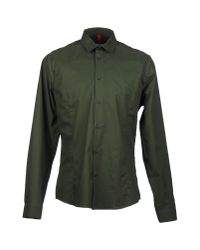 Orlebar Brown | Green Long Sleeve Shirt for Men | Lyst