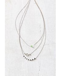 Urban Outfitters - Metallic Easy Picnic Delicate Necklace - Lyst