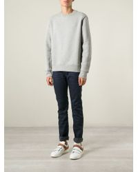 Acne Studios - Blue 'Max' Slim Fit Jeans for Men - Lyst