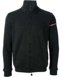 Moncler | Black Classic Sweatershirt for Men | Lyst