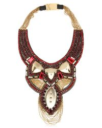 Ranjana Khan - Brown Fall Winter Collection Necklace - Lyst
