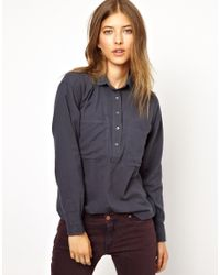 M.i.h Jeans | Blue The Yves Shirt | Lyst