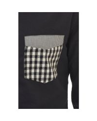 Band of Outsiders - Black Mock Pocket Shirt for Men - Lyst