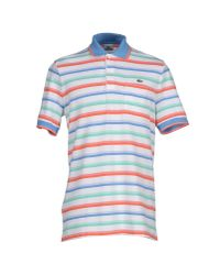 Lacoste | White Polo Shirt for Men | Lyst