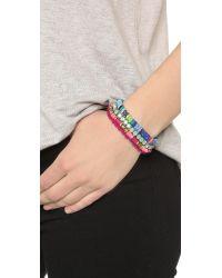 Deepa Gurnani - Multicolor Casey Bracelet - Lyst