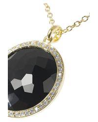Ippolita - Black Lollipop 18-Karat Gold, Onyx And Diamond Necklace - Lyst