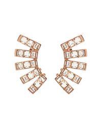 Ca&Lou | Pink Tara Ear Cuffs | Lyst
