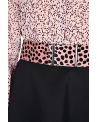 Dorothee Schumacher | Black Vibrant Texture Belt Width 6 Cm | Lyst