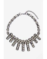 Nasty Gal - Metallic Night Fever Rhinestone Necklace - Lyst