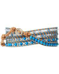 Chan Luu   Blue Go-to Tassel Bracelet   Lyst