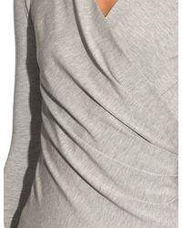 Max Mara - Gray Caprice Top - Lyst