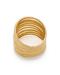 Madewell | Metallic Wirestack Ring - Gold | Lyst