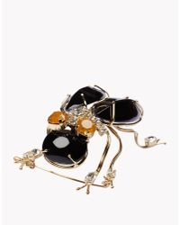 DSquared² | Black Brooch | Lyst
