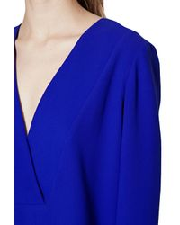 French Connection | Blue Arrow Crepe Tunic | Lyst