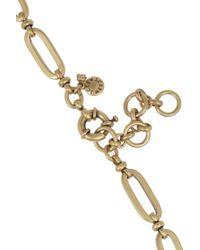 J.Crew - Metallic Goldtone Crystal Necklace - Lyst