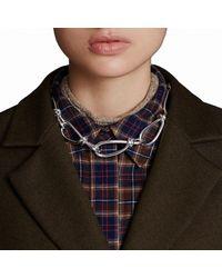 Trademark | Metallic Loop Necklace | Lyst