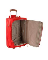 Bric's - Red X-travel Medium Rolling Duffle Bag for Men - Lyst