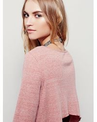 Free People - Pink Cool Cat Dress - Lyst