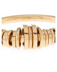 Chloé - Metallic Freja Multi-Hoop Brass Bracelet - Lyst