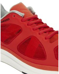 PUMA - Red Puma Chalayan Haast Trainers for Men - Lyst