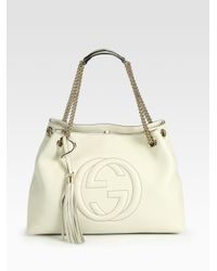 1fe8f2dcaf9 Gallery. Previously sold at  Saks Fifth Avenue · Women s Gucci Soho Bag