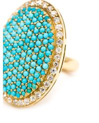 Ileana Makri | Blue 'sleeping Beauty' Ring | Lyst