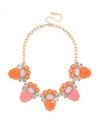 BaubleBar | Orange Corazon Cabochon Collar | Lyst