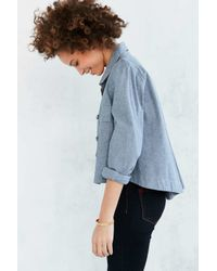 BDG - Blue Olivia Swing Shirt Jacket - Lyst