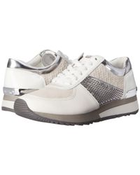 MICHAEL Michael Kors - Gray Allie Trainer - Lyst