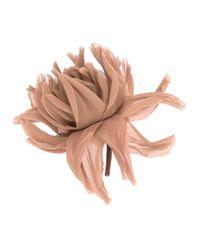 Erika Cavallini Semi Couture - Natural Flower Brooch - Lyst