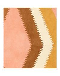Valentino - Pink Suede Midi Skirt - Lyst
