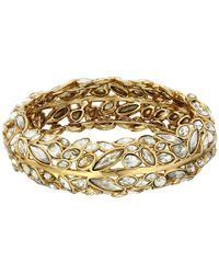 Alexis Bittar | Metallic Hinge In Starlight Bracelet | Lyst