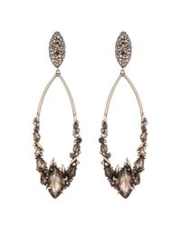 Alexis Bittar | Metallic Smoky Marquis Cluster Link Clip Earring | Lyst