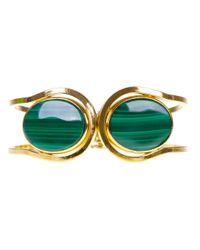 Wouters & Hendrix - Green Stone Bracelet - Lyst