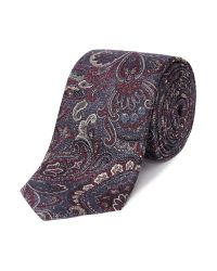Ted Baker | Purple Playzee Paisley Tie for Men | Lyst