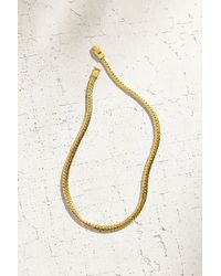 Urban Outfitters - Metallic Chain Choker Necklace - Lyst