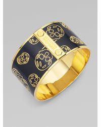 Alexander McQueen | Brown Largeskull Cuff Bracelet | Lyst
