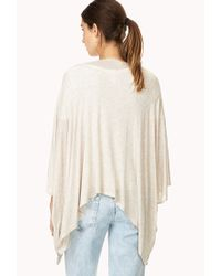 Forever 21 - Natural Free Spirit Cardigan You've Been Added To The Waitlist - Lyst