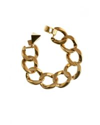 Tomtom - Metallic Geometry Chain Bracelet - Lyst